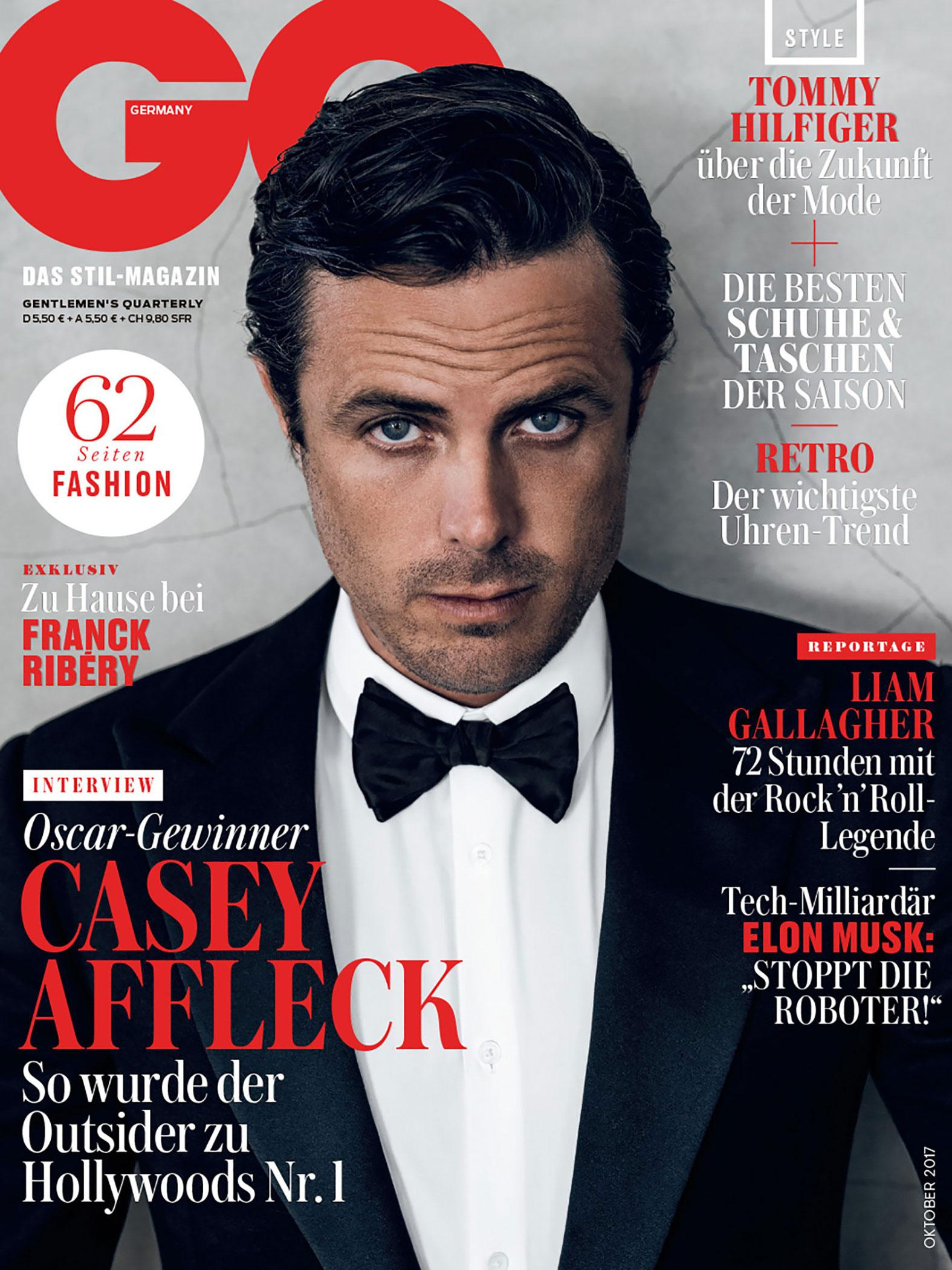 Casey Affleck for GQ Germany