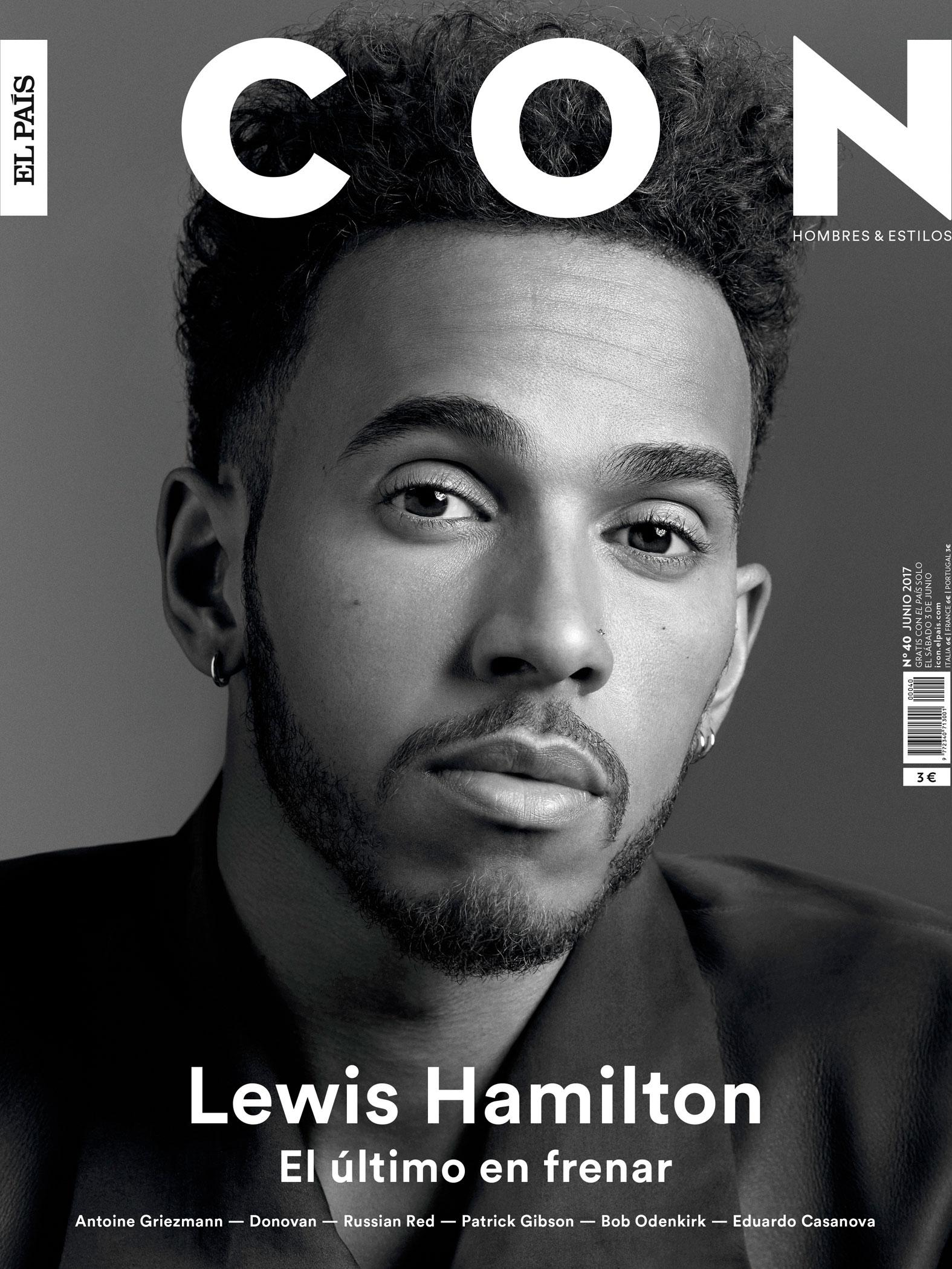 Lewis Hamilton for Icon