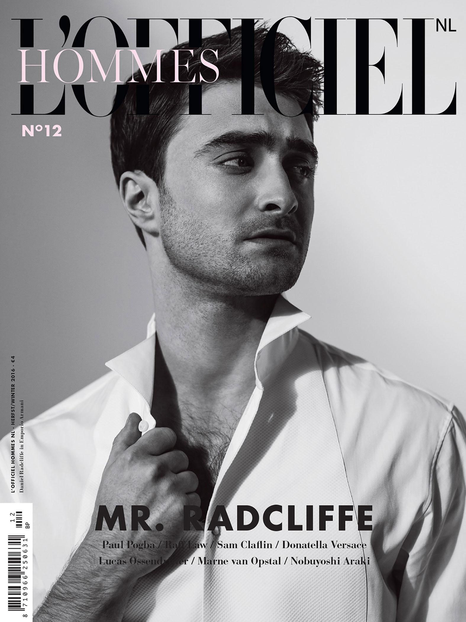 Daniel Radcliffe L'Officiel