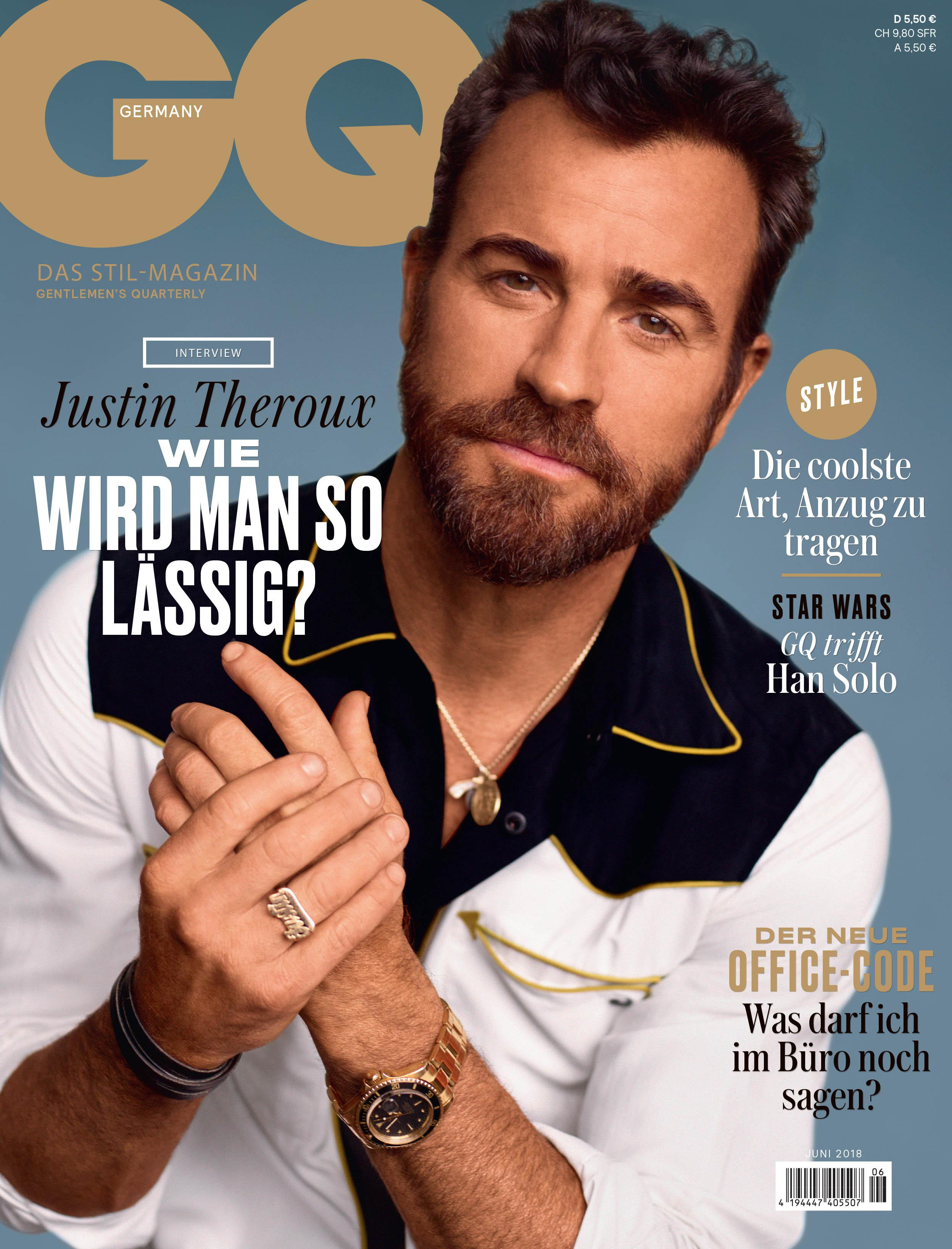 Justin Theroux for GQ Germany