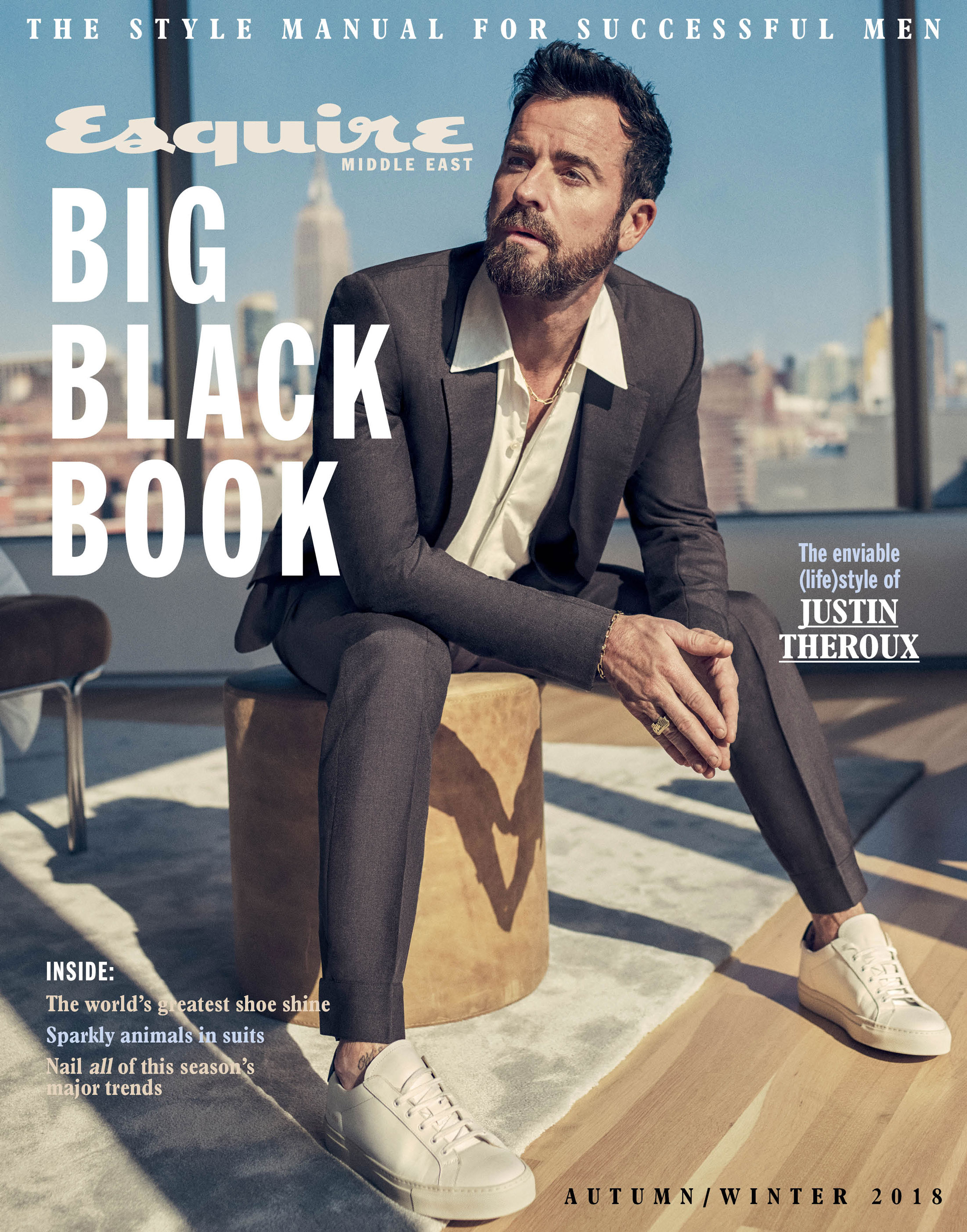 Justin Theroux for Esquire Middle East