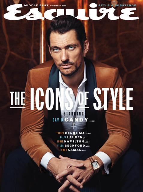 David Gandy for Esquire Middle East