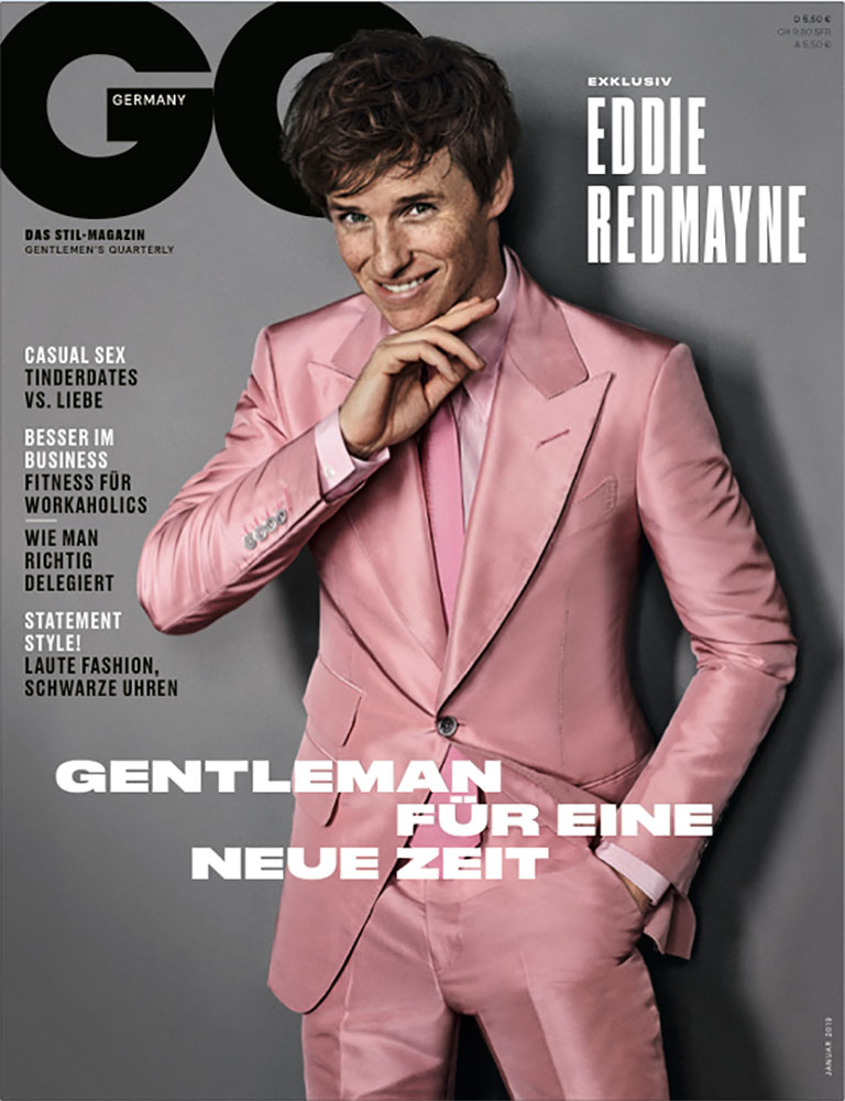 Eddie Redmayne for GQ Germany